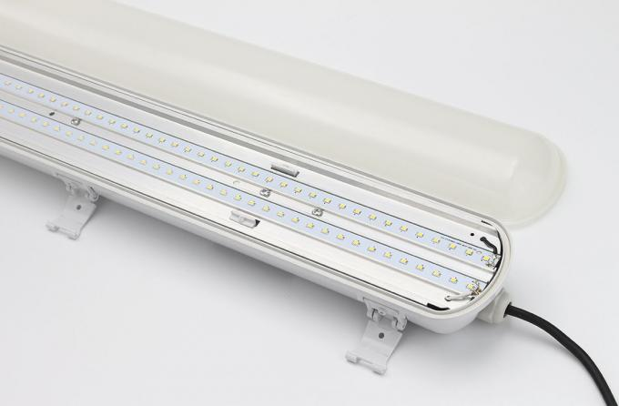 24w Led waterproof Light Fixture,0.6M longth,pc+pc material,IP65 rate,pf>0.9