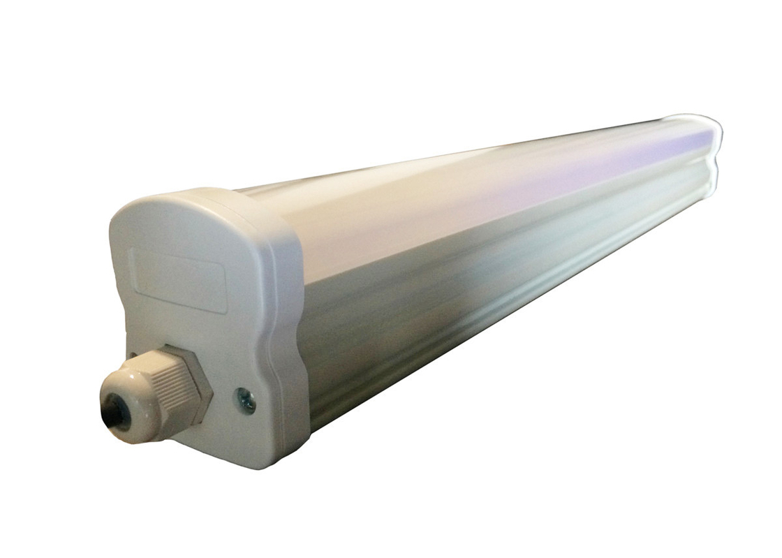 Industrial Extrusion LED Batten Strip Lights , Parking Lots Led